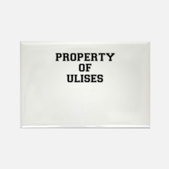 Property of ULISES Magnets