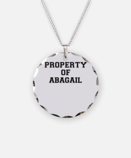 Property of ABAGAIL Necklace