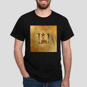 Egyptian women on a throne T-Shirt