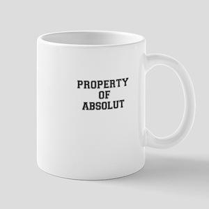 Property of ABSOLUT Mugs