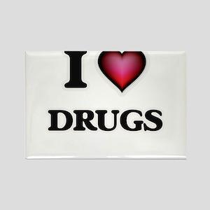 I love Drugs Magnets