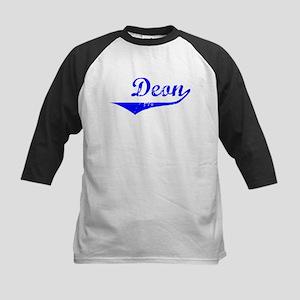 Deon Vintage (Blue) Kids Baseball Jersey