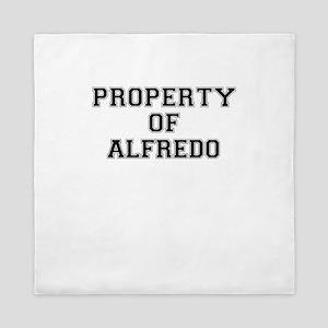 Property of ALFREDO Queen Duvet