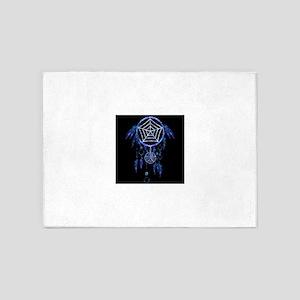 Glowing Dreamcatcher 5'x7'Area Rug