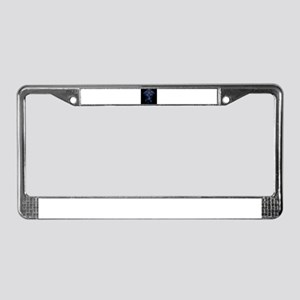 Glowing Dreamcatcher License Plate Frame