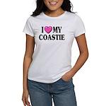 I Love ( Heart ) My Coastie Women's T-Shirt