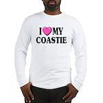 I Love ( Heart ) My Coastie Long Sleeve T-Shirt