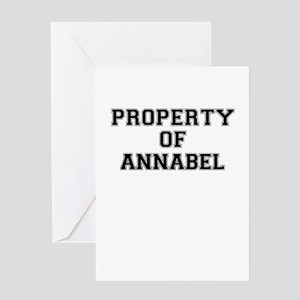 Property of ANNABEL Greeting Cards