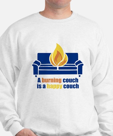 Happy Couch Sweatshirt