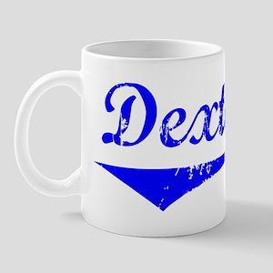 Dexter Vintage (Blue) Mug