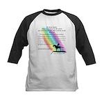 Rainbow Native American Kids Baseball Jersey