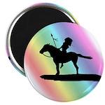"Rainbow Native American 2.25"" Magnet (100 pack)"