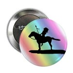"""Rainbow Native American 2.25"""" Button (10 pack)"""