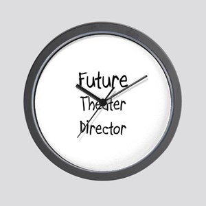 Future Theater Director Wall Clock