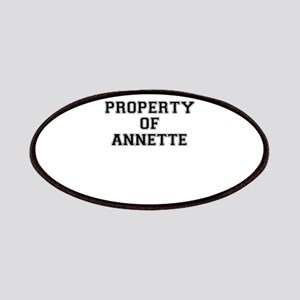 Property of ANNETTE Patch