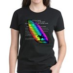 Rainbow Native American Women's Dark T-Shirt