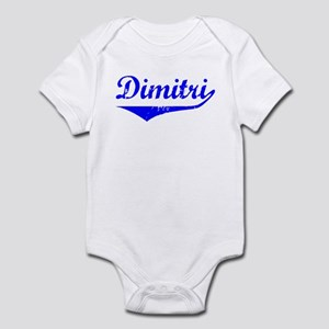 Dimitri Vintage (Blue) Infant Bodysuit