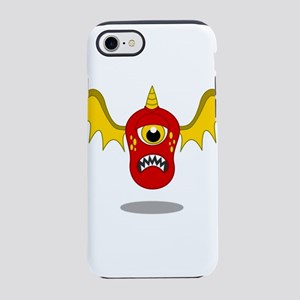 Red Flying Monster iPhone 8/7 Tough Case