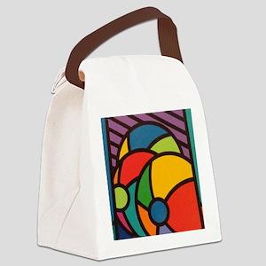 Beach Balls Canvas Lunch Bag