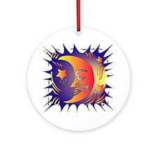 Magic Moon Ornament (Round)