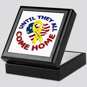 Until They All Come Home Keepsake Box