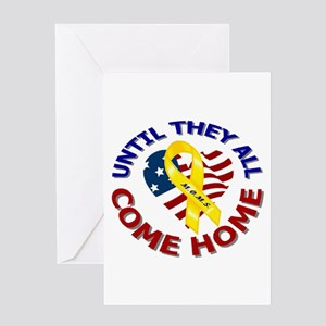 Until They All Come Home Greeting Card