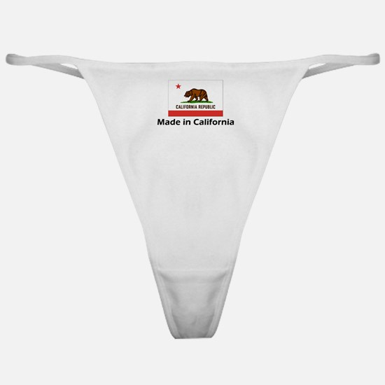 Made in California Classic Thong