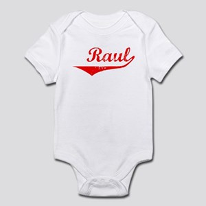 Raul Vintage (Red) Infant Bodysuit