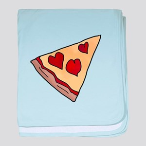 Piece of My Heart Pizza Slice Matchin baby blanket