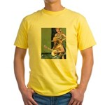 Street Musicians French Quarter Yellow T-Shirt
