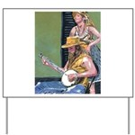 Street Musicians French Quarter Yard Sign