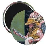 Street Musicians French Quarter Magnet