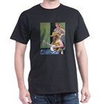 Street Musicians French Quarter Dark T-Shirt