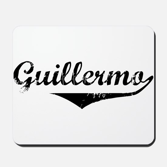 Guillermo Vintage (Black) Mousepad