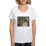 New Orleans Guitar Player Women's V-Neck T-Shirt