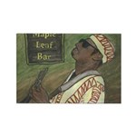 New Orleans Guitar Player Rectangle Magnet