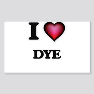 I love Dye Sticker