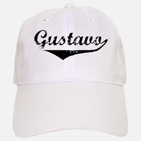 Gustavo Vintage (Black) Baseball Baseball Cap