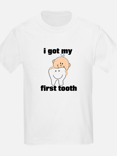 First Tooth Boy T-Shirt