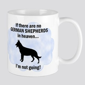 German Shepherds In Heaven Mug