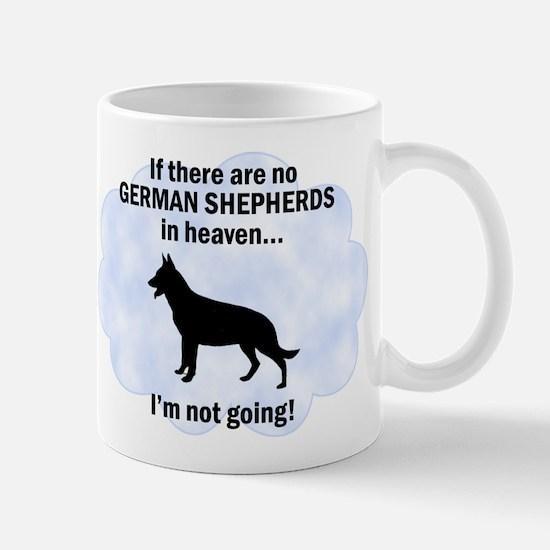 German Shepherds In Heaven Mug
