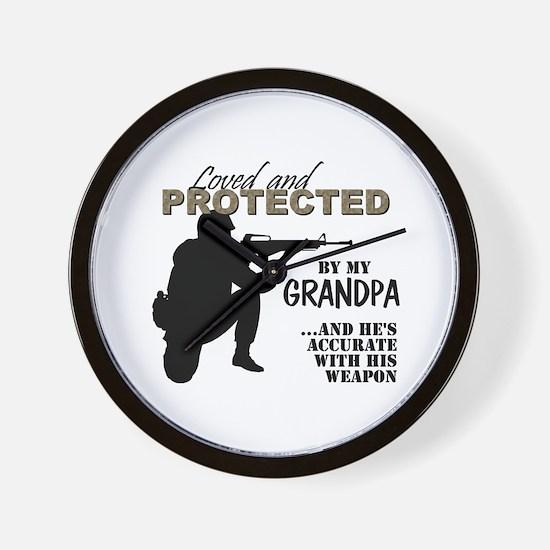 Unique Military grandpa Wall Clock