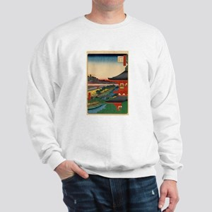 JAPANESE PRINT OF EDO 2 Sweatshirt