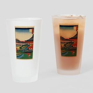 JAPANESE PRINT OF EDO 2 Drinking Glass