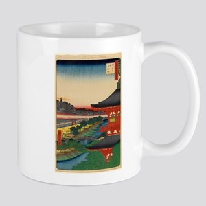 JAPANESE PRINT OF EDO 2 Mugs