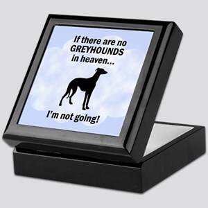 Greyhounds In Heaven Keepsake Box