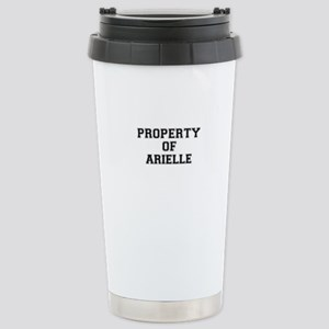 Property of ARIELLE Stainless Steel Travel Mug