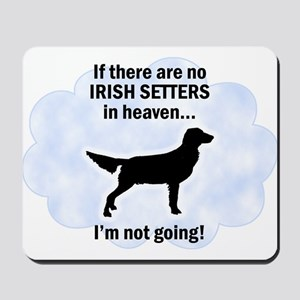 Irish Setters In Heaven Mousepad