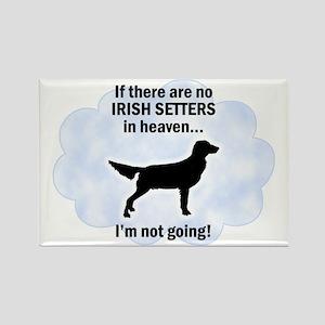 Irish Setters In Heaven Rectangle Magnet