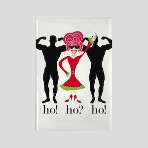 Ho! Ho? Ho! Kitchen Magnet